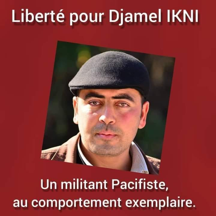 Libérez L'HOMME LIBRE DJAMEL IKNI 12546