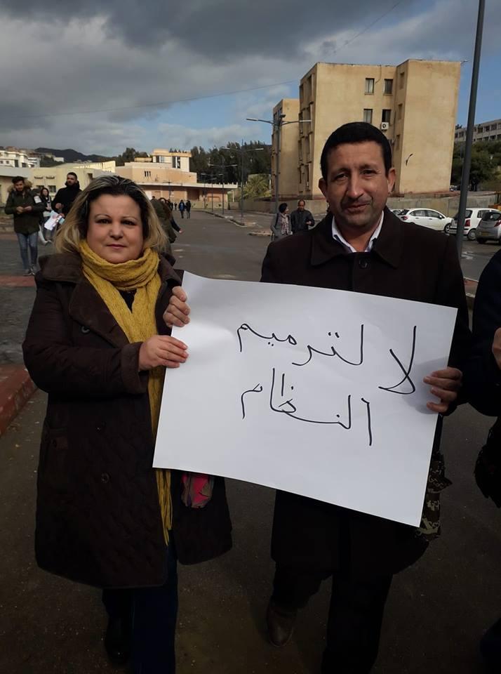 Bejaia: Marche des étudiants contre le cinquième mandat le mardi 26 février 2019 - Page 2 1327