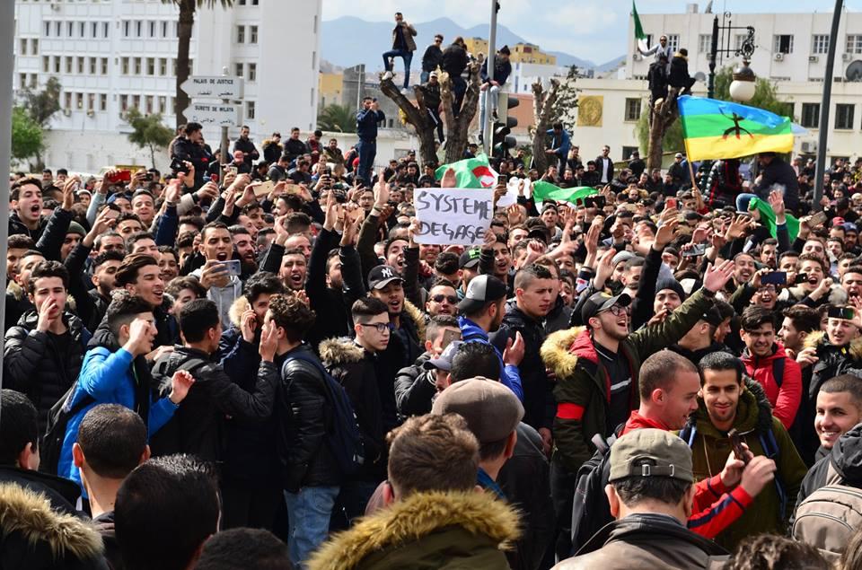 l'université de Bejaia a dit non à ce régime le mardi 26 février 2019 1346