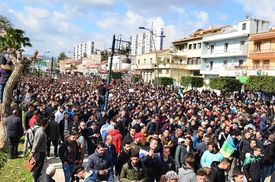 l'université de Bejaia a dit non à ce régime le mardi 26 février 2019 1347