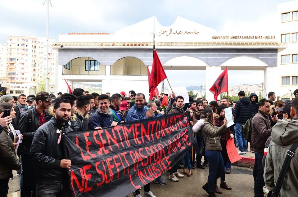 l'université de Bejaia a dit non à ce régime le mardi 26 février 2019 1348