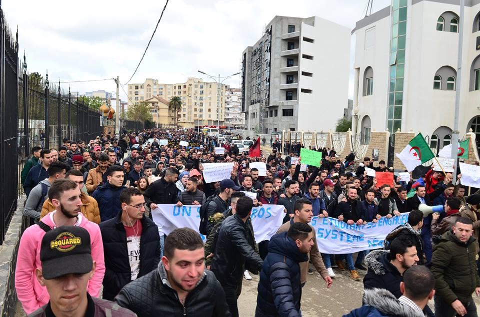 l'université de Bejaia a dit non à ce régime le mardi 26 février 2019 1349
