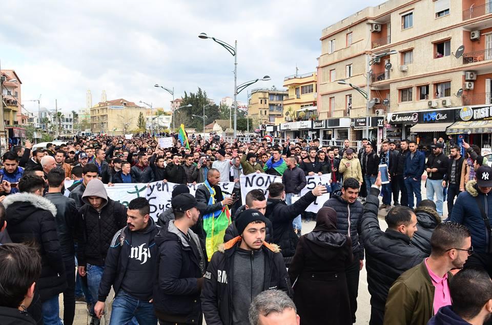 l'université de Bejaia a dit non à ce régime le mardi 26 février 2019 1351