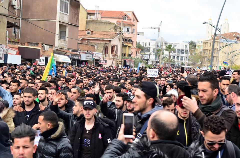 l'université de Bejaia a dit non à ce régime le mardi 26 février 2019 1352