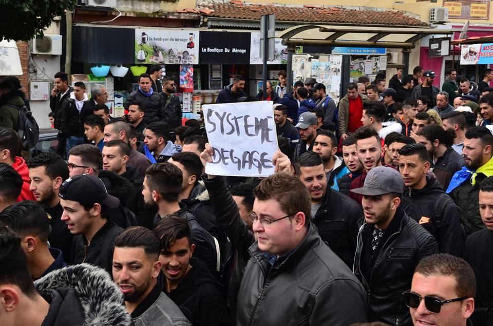 l'université de Bejaia a dit non à ce régime le mardi 26 février 2019 1353