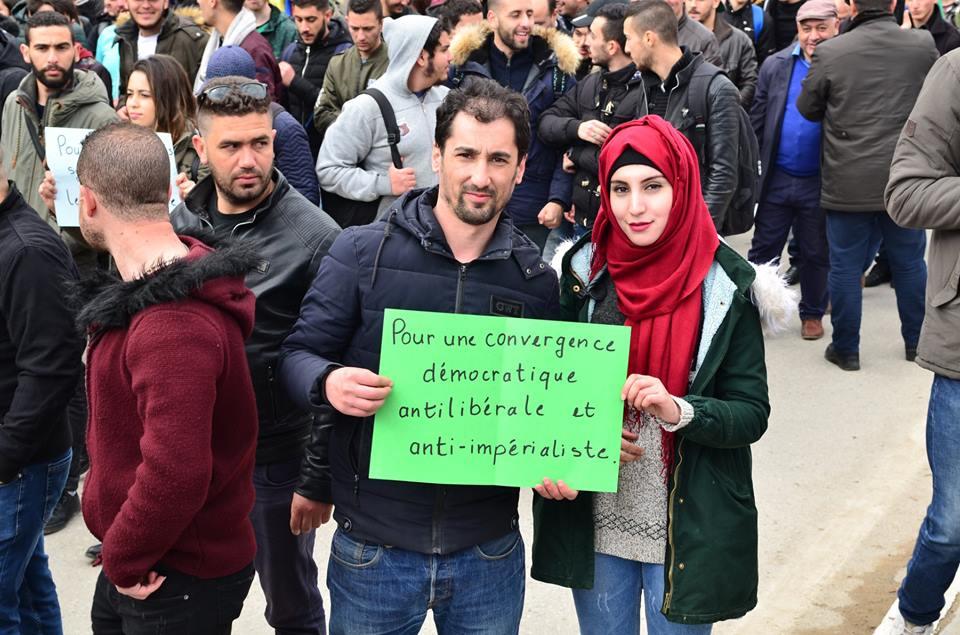 l'université de Bejaia a dit non à ce régime le mardi 26 février 2019 1354