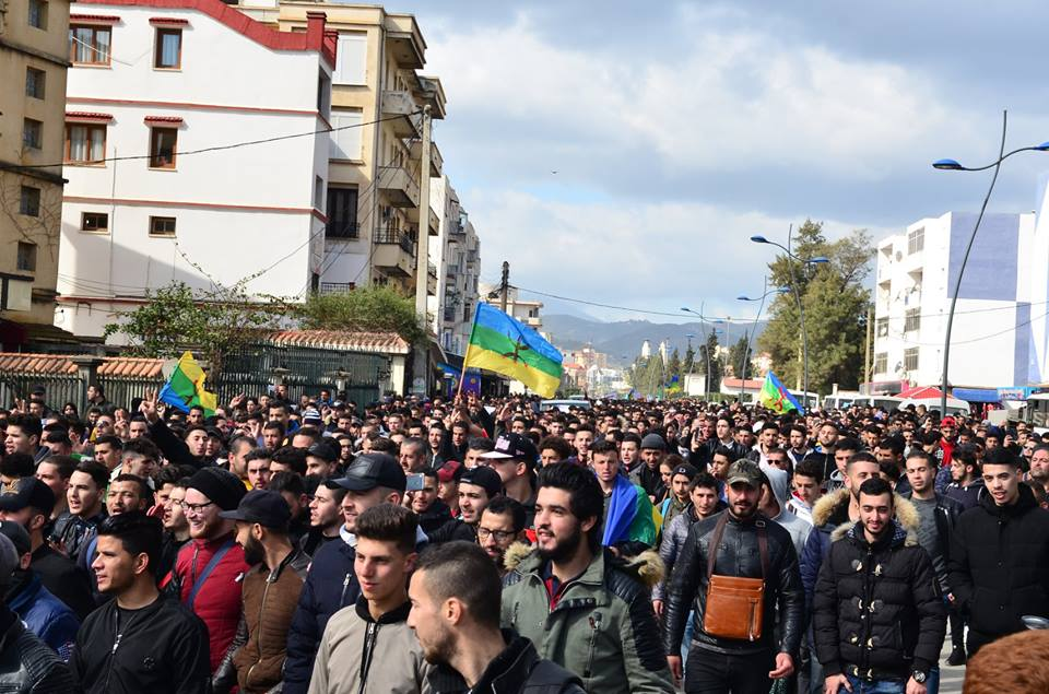 l'université de Bejaia a dit non à ce régime le mardi 26 février 2019 1359