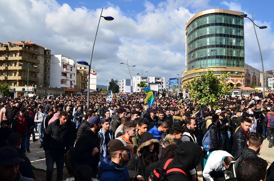 l'université de Bejaia a dit non à ce régime le mardi 26 février 2019 1360