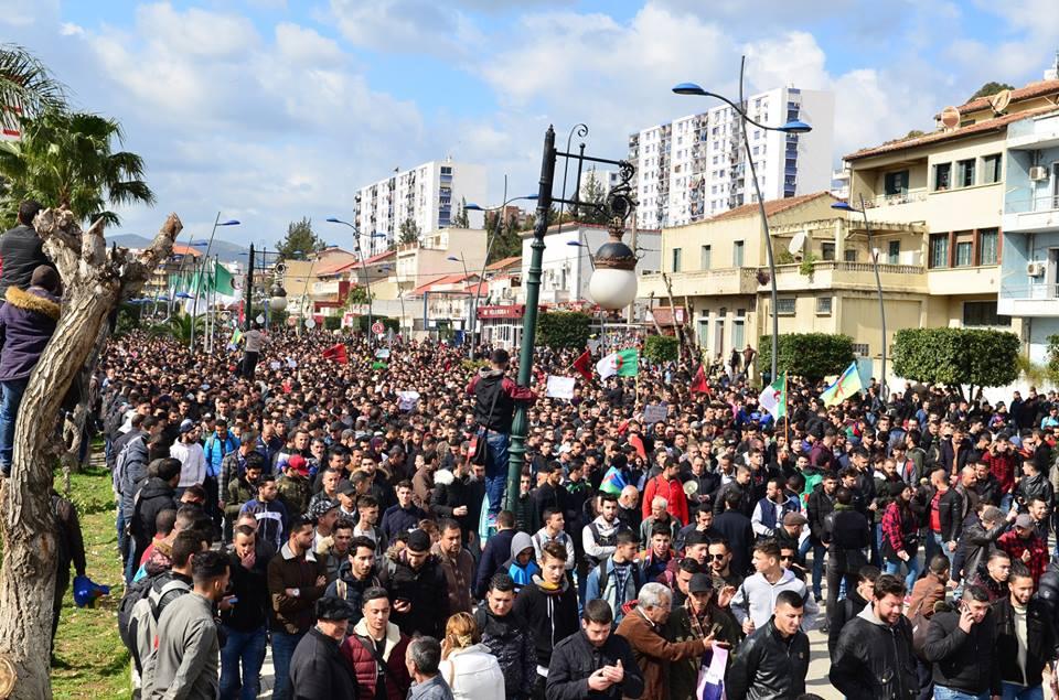 l'université de Bejaia a dit non à ce régime le mardi 26 février 2019 1361