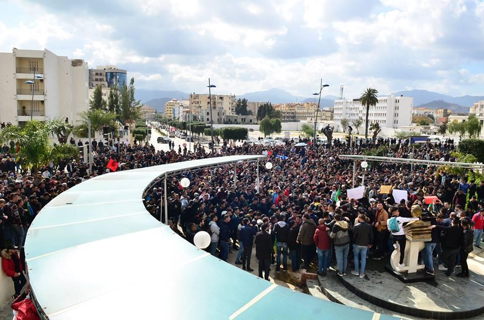 l'université de Bejaia a dit non à ce régime le mardi 26 février 2019 1362
