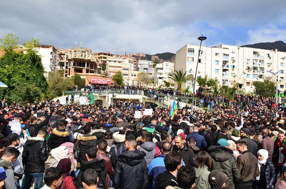 l'université de Bejaia a dit non à ce régime le mardi 26 février 2019 1364