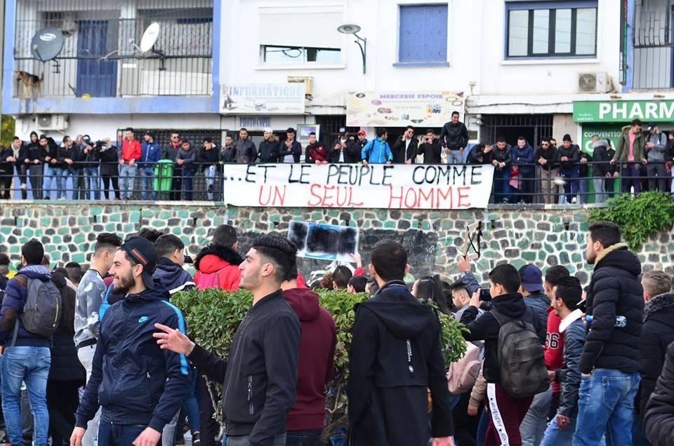 l'université de Bejaia a dit non à ce régime le mardi 26 février 2019 1365