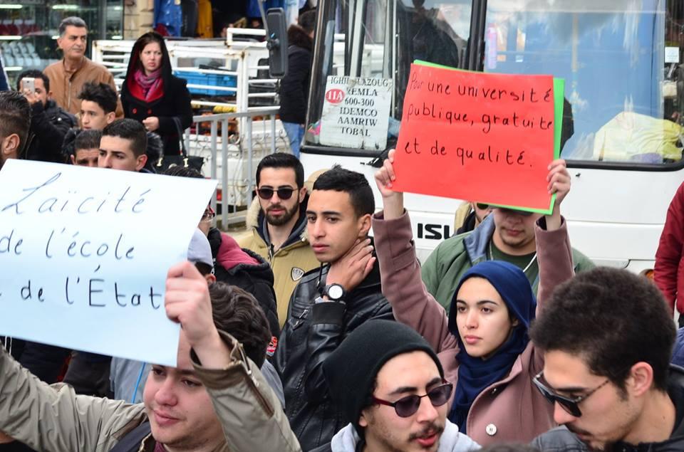 l'université de Bejaia a dit non à ce régime le mardi 26 février 2019 1366