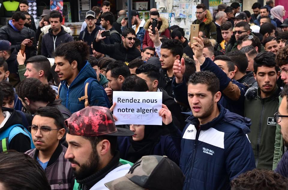 l'université de Bejaia a dit non à ce régime le mardi 26 février 2019 1367