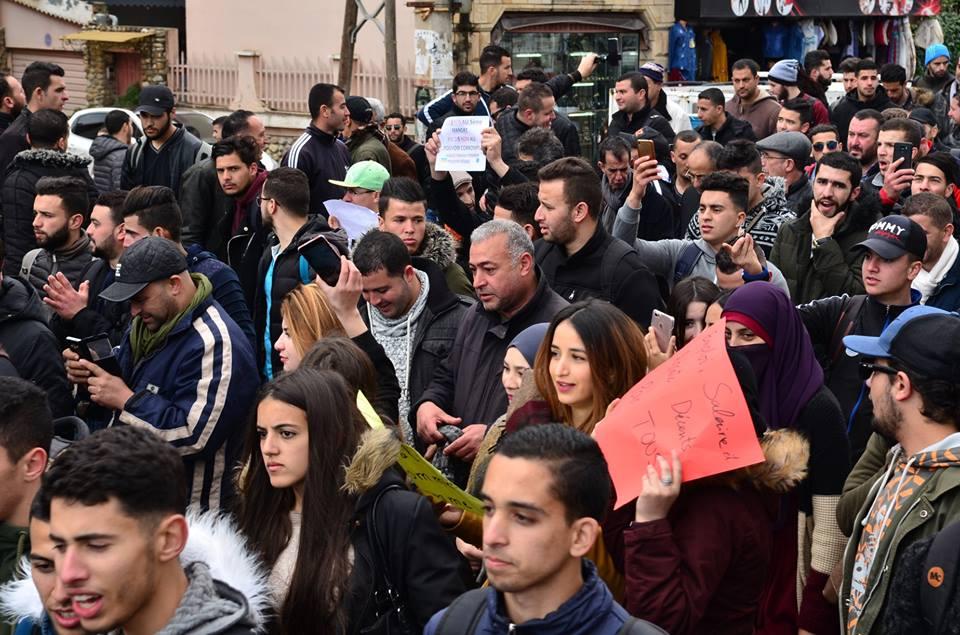 l'université de Bejaia a dit non à ce régime le mardi 26 février 2019 1369