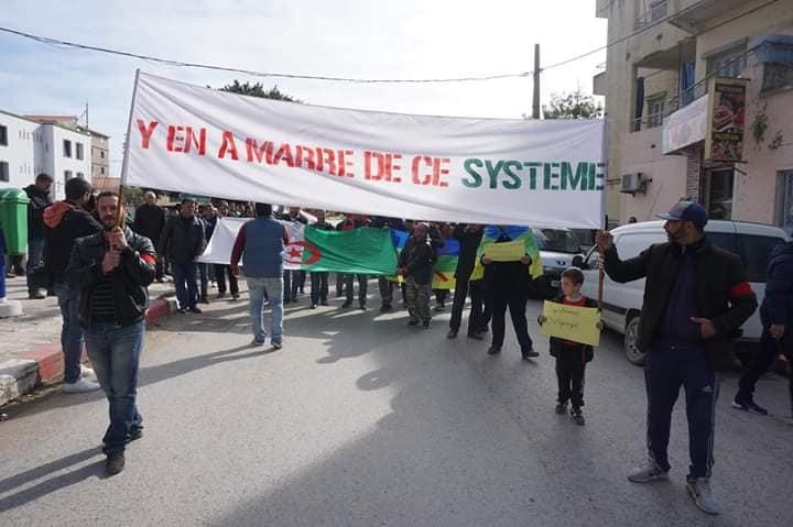 Marche à Aokas le mercredi 27 février 2019 pour exiger le départ de ce système voyou et mafieux 1377