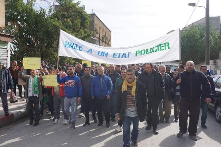 Marche à Aokas le mercredi 27 février 2019 pour exiger le départ de ce système voyou et mafieux 1378