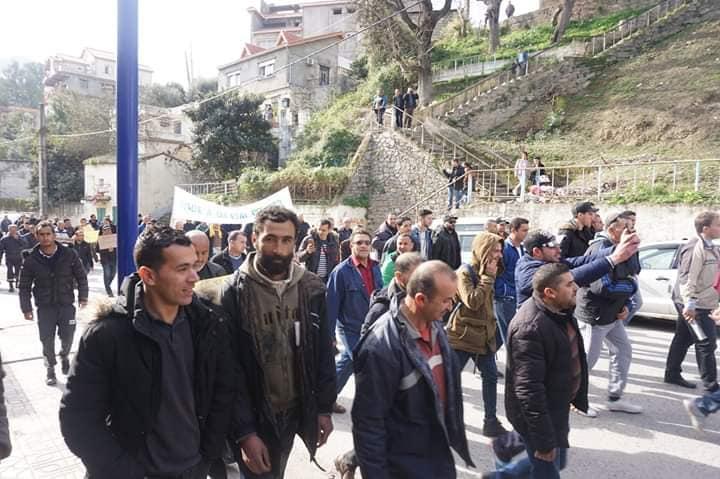 Marche à Aokas le mercredi 27 février 2019 pour exiger le départ de ce système voyou et mafieux 1381
