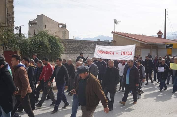 Marche à Aokas le mercredi 27 février 2019 pour exiger le départ de ce système voyou et mafieux 1384