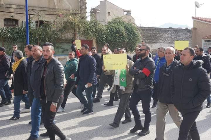 Marche à Aokas le mercredi 27 février 2019 pour exiger le départ de ce système voyou et mafieux 1385