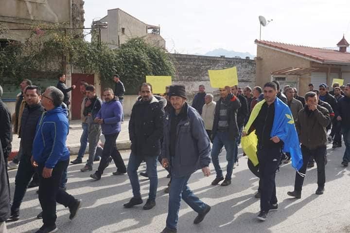 Marche à Aokas le mercredi 27 février 2019 pour exiger le départ de ce système voyou et mafieux 1386