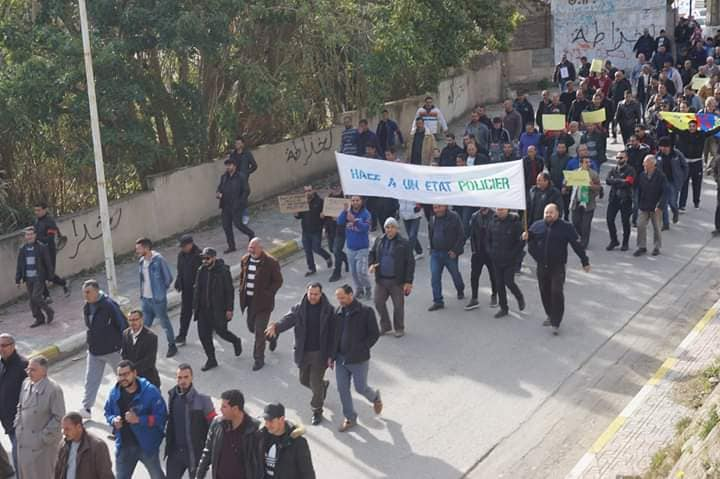 Marche à Aokas le mercredi 27 février 2019 pour exiger le départ de ce système voyou et mafieux 1387