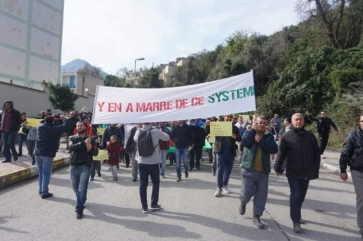 Marche à Aokas le mercredi 27 février 2019 pour exiger le départ de ce système voyou et mafieux 1392