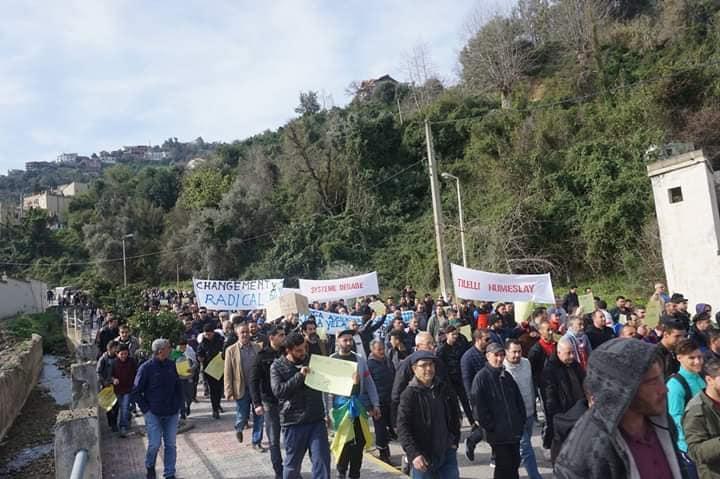 Marche à Aokas le mercredi 27 février 2019 pour exiger le départ de ce système voyou et mafieux 1393