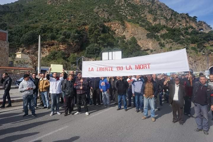 Marche à Aokas le mercredi 27 février 2019 pour exiger le départ de ce système voyou et mafieux 1397