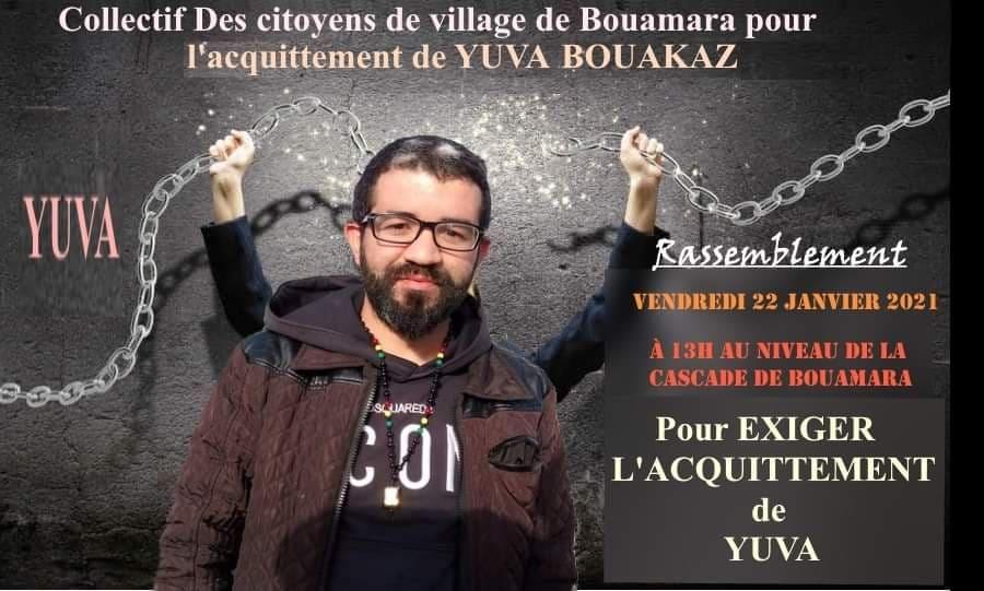 Yuva Bouakaz  un chrétien de la région d'Aoaks ,a fui l'Algerie en harag!  14056110