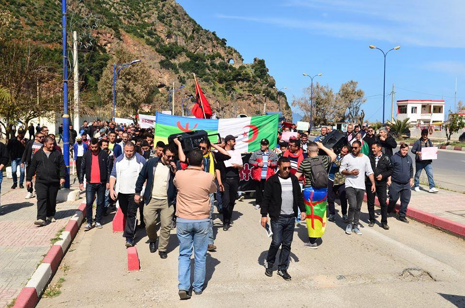 Marche contre le système à Aokas le samedi 30 mars 2019 14100