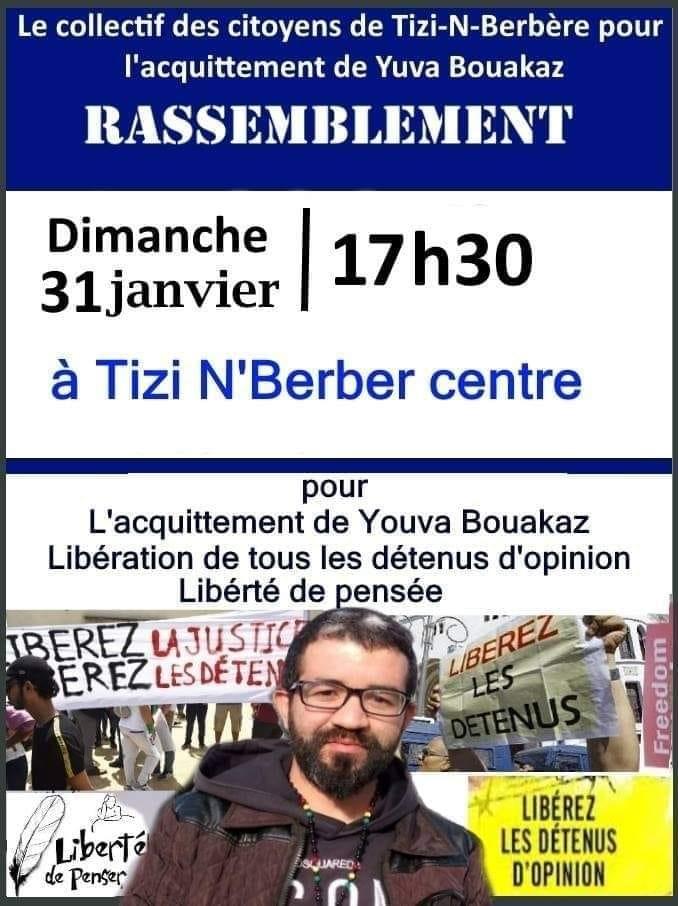 Yuva Bouakaz  un chrétien de la région d'Aoaks ,a fui l'Algerie en harag!  14432310
