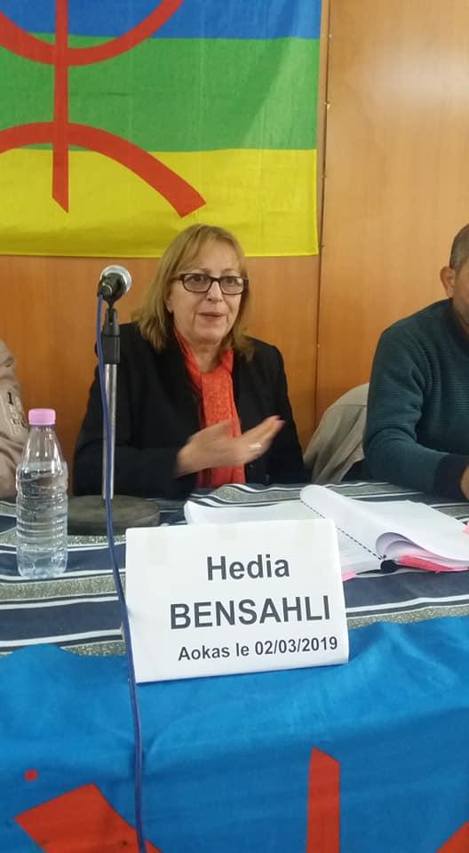 Hedia Bensalhi à Aokas le samedi 02 mars 2019 1444