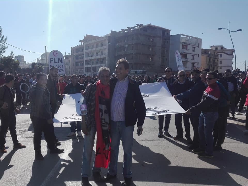Impressionnante marche à Béjaïa le samedi 01 mars 2019 contre le système 1493