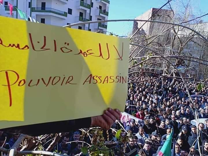 Imposante manifestation contre le cinquième mandat à Kherrata le samedi 16 février 2019 1529