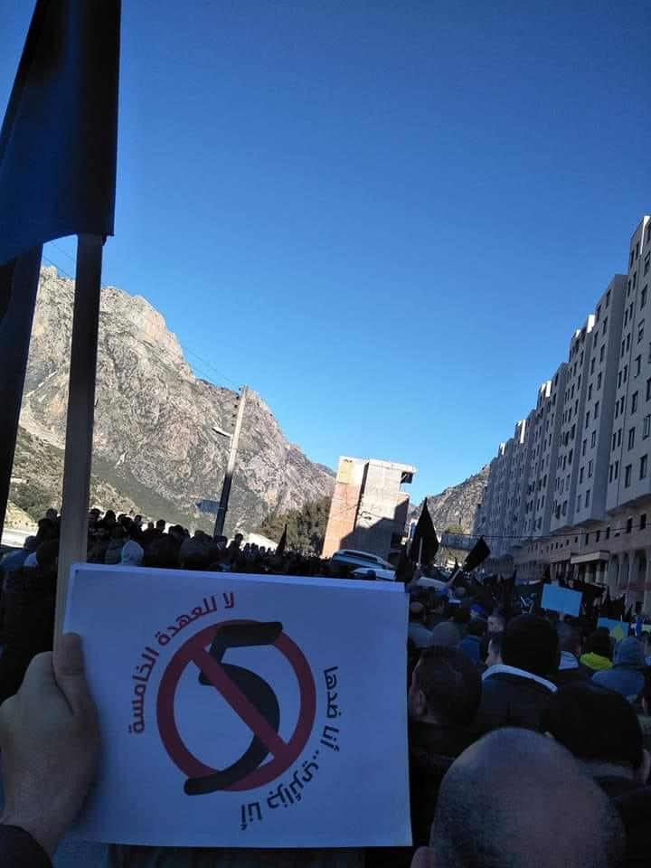 Imposante manifestation contre le cinquième mandat à Kherrata le samedi 16 février 2019 1531