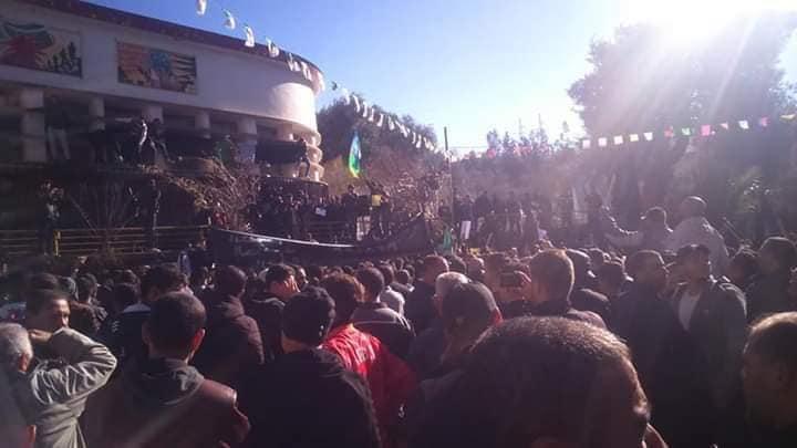 Imposante manifestation contre le cinquième mandat à Kherrata le samedi 16 février 2019 1536