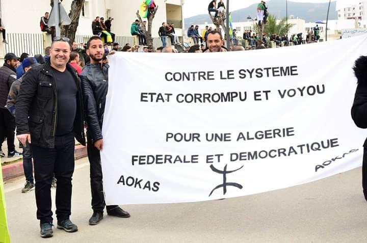 Algérie fédérale et démocratique  1804