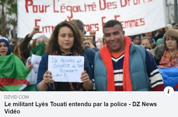 Aokas : Le militant Lyes Touati convoqué par la police 1806