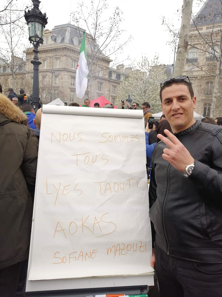 Aokas : Le militant Lyes Touati convoqué par la police 1808