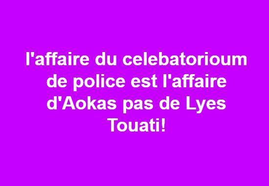 Rassemblement au centre culturel d'Aokas le dimanche 24 mars 2019 à 17 heures pour s'insurger contre la convocation injuste de Lyes Touati  1818