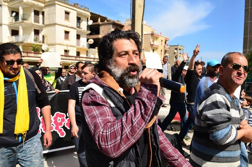 Marche contre le système à Aokas le samedi 30 mars 2019 1830