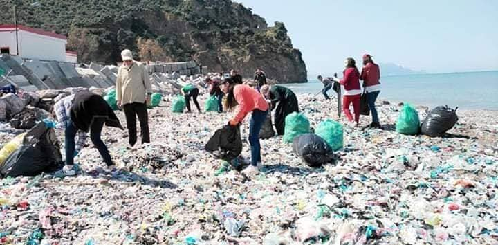 nettoyage des plages à Aokas (samedi 30 mars 2019) 1928