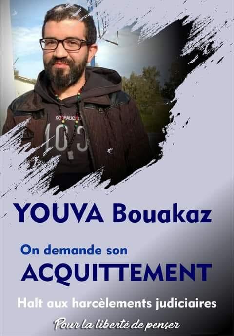 Yuva Bouakaz  un chrétien de la région d'Aoaks ,a fui l'Algerie en harag!  19427210