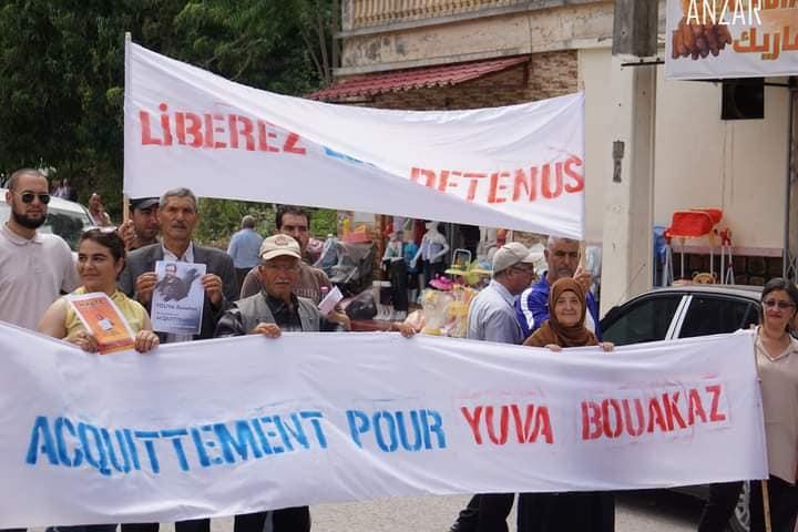Yuva Bouakaz  un chrétien de la région d'Aoaks ,a fui l'Algerie en harag!  19553310