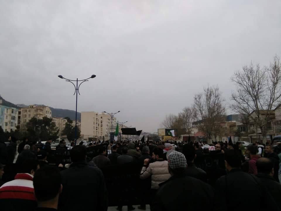 marche contre le cinquième mandat à Tichy le jeudi 21 février 2019 196