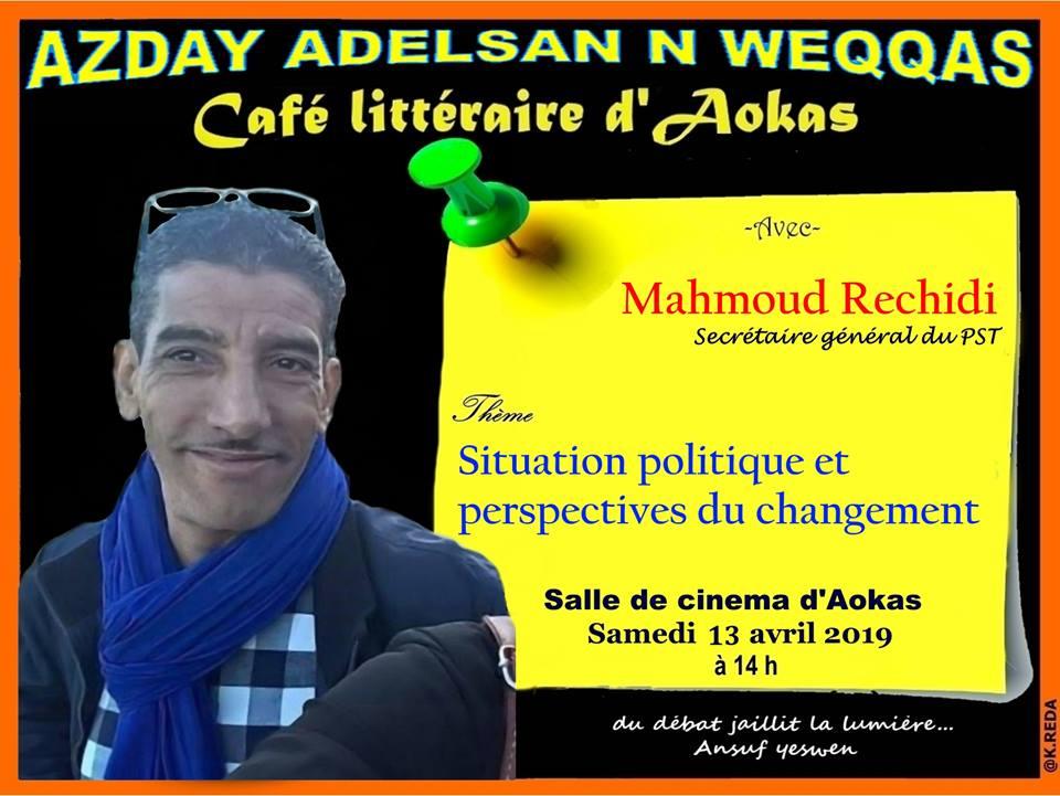 Mahmoud Rechidi à Aokas le samedi 13 Avril 2019 1967