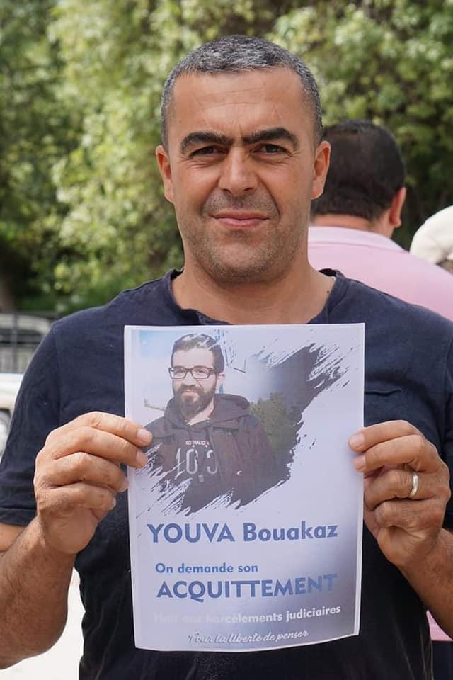 Yuva Bouakaz  un chrétien de la région d'Aoaks ,a fui l'Algerie en harag!  19686010