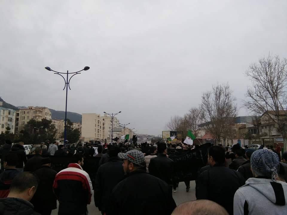 marche contre le cinquième mandat à Tichy le jeudi 21 février 2019 197