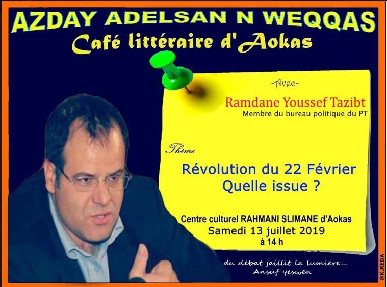 Ramdane Youssef Tazibt à Aokas le samedi 13 juillet 2019 1972